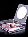 Sminkredskap Kosmetika förvaring Kosmetiska speglar Smink 1 pcs Akrylfiber Kvadrat Dagligen Kosmetisk Skötselprodukter