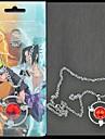 Smycken Inspirerad av Naruto Sasuke Uchiha Animé Cosplay-tillbehör Dekorativa Halsband Legering Herr Ny Varm Halloween kostymer