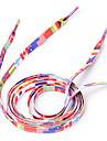 1 Par VM 2014 National Flag Shoelaces (120cm)