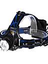 Pannlampor Framljus till cykel Taktisk 600 lm LED LED 1 utsläpps 3 Belysning läge Taktisk Zoombar Justerbar fokus Multifunktion / Aluminiumlegering