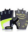 Aktivitet/Sport Handskar Anti-sladd Fingerlösa Polyester Cykling / Cykel Herr / Dam / Unisex