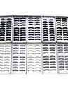 Ögonfrans Lösögonfransar 200 pcs Volym / Naturlig / Tjock Ögonfrans Klassisk Extra lång Dagligen Smink Kosmetisk
