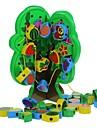 trä fruktträd threading pärlor block leksak pedagogiska leksaker för barn