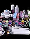 61st glitter uv gel cleanser primer nagel konst kit ställ