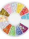 1200 pcs Nail Art Kit Till finger nagel konst manikyr Pedikyr Abstrakt
