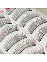 Ögonfrans Sminkredskap Lösögonfransar Volym Naturlig Fiber Dagligen Smink Vardagsmakeup Kosmetisk Skötselprodukter