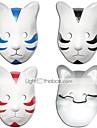 Mask Inspirerad av Naruto Cosplay Animé Cosplay-tillbehör Mask pvc Herr Dam Varm Halloween kostymer