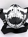 Mask Inspirerad av Tokyo Ghoul Cosplay Animé Cosplay-tillbehör Mask PU läder Herr Ny Varm Halloween kostymer