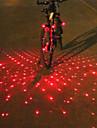 Laser LED Cykellyktor bar end ljus Baklykta till cykel säkerhetslampor Bergscykling Cykel Cykelsport Analog LED ljus multiverktyg Varning Batteri Cykling / IPX-4