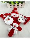 Julklappar Julleksaker Slap-armband Snögubbe Söt jultomten Textil Barn Pojkar Flickor Leksaker Present 1 pcs