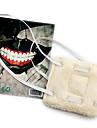 Mask Inspirerad av Tokyo Ghoul Cosplay Animé Cosplay-tillbehör Mask Polär Ull Herr Ny Halloween kostymer