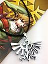 Smycken Inspirerad av The Legend of Zelda Cosplay Animé / Videospel Cosplay-tillbehör Dekorativa Halsband Legering Herr Halloweenkostymer