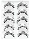 Ögonfrans Sminkredskap Lösögonfransar Smink Ögonfrans Dagligen Vardagsmakeup Volym Naturlig Tjock Kosmetisk Skötselprodukter