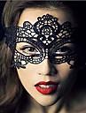 Spets Mask Masquerade Mask Halloween-mask Inspirerad av Karnival Svart Halloween Herr Dam