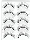 Ögonfrans Lösögonfransar 10 pcs Volym Tjock Fiber Dagligen Naturligt långa - Smink Vardagsmakeup Kosmetisk Skötselprodukter