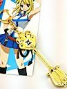 Smycken Inspirerad av Sagotema Lucy Heartfilia Animé Cosplay-tillbehör Dekorativa Halsband Legering Herr Dam Varm Halloween kostymer