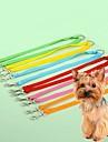 Katt Hund Koppel Justerbara / Infällbar Cosplay Nylon Grön Blå Rosa