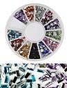 1 pcs Glitter Nail Art Kit Nagelsmycken Vackert nagel konst manikyr Pedikyr Dagligen Mode / Akrylfiber / Nail Smycken
