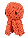 Tuggleksaker Hundleksak Husdjur Leksaker Rep Bläckfisk Textil Present
