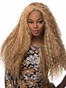 Syntetiska peruker Lockigt Lockigt Peruk Blond Syntetiskt hår
