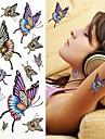 1 pcs tillfälliga tatueringar Miljövänlig / Engångsvara brachium / skuldra / tillbaka Vattenöverföringsklistermärke Tatueringsklistermärken / Tattoo Sticker