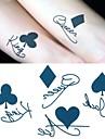 1 pcs Tatueringsklistermärken tillfälliga tatueringar Romantisk serie Miljövänlig / Engångsvara Body art händer / skuldra / Tattoo Sticker
