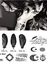 1 pcs tillfälliga tatueringar Lena klistermärken / Ny Design Kropp / handled / Ben Vattenöverföringsklistermärke Tatueringsklistermärken / Tattoo Sticker