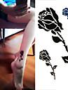 1 pcs Tatueringsklistermärken tillfälliga tatueringar Blomserier Engångsvara / Hög kvalitet, fri formaldehyd Body art händer / ankel / Tattoo Sticker