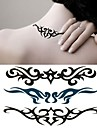 1 pcs tillfälliga tatueringar Speciell design / Engångsvara händer / skuldra / Ben Vattenöverföringsklistermärke Tatueringsklistermärken / Tattoo Sticker