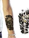 1 pcs tillfälliga tatueringar Miljövänlig / Professionell Kropp / händer / handled Vattenöverföringsklistermärke Tatueringsklistermärken