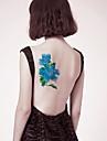 1 pcs Tatueringsklistermärken tillfälliga tatueringar Blomserier Ny Design / Säkerhet Body art arm / tillbaka / Tattoo Sticker