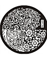 Abstrakt - Finger/Tå/Andra Metall - 1 - styck 6*6*0.1 - cm