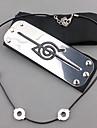 Smycken Huvudbonad Inspirerad av Naruto Itachi Uchiha Animé Cosplay-tillbehör Pannband Herr Dam Varm Halloween kostymer