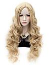 Syntetiska peruker Lockigt Lockigt Peruk Blond Väldigt länge Blond Syntetiskt hår Dam Blond