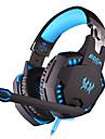 KOTION EACH Fone de ouvido para jogos Com Fio Luminoso Isolamento de ruido Com Microfone Com controle de volume Games