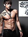 1 pcs Tatueringsklistermärken tillfälliga tatueringar Totemserier Vattentät / Ogiftig Body art / Ländrygg