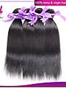 Peruanskt hår Rak Klassisk Hårförlängning av äkta hår 3 delar Hög kvalitet Dagligen Dagligen