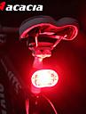 Cykellyktor / Baklykta till cykel / säkerhetslampor LED / - Cykellyktor Cykelsport LED ljus, Enkel att bära Batteri Batteri Cykling - Acacia / IPX-4