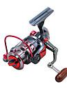 Fiskerullar Snurrande hjul 5.2:1 Växlingsförhållande+11 Kullager Hand Orientering utbytbar Kastfiske / Isfiske / Spinnfiske - XY3000 / Färskvatten Fiske / Karpfiske / Abborr-fiske / Drag-fiske