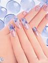 1 pcs Akrylpuder nagel konst manikyr Pedikyr Dagligen Abstrakt / Mode / Akrylfiber