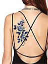 5 pcs Tatueringsklistermärken tillfälliga tatueringar Blomserier Vattentät / Ogiftig Body art