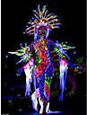 1 pcs Kroppsmålningsfärger Kroppsmålningsstenciler Ansiktsmålningsfärger tillfälliga tatueringar Ogiftig Body art Ansikte / Kropp / händer