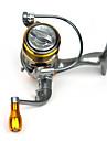 Fiskerullar Snurrande hjul 5.2:1 Växlingsförhållande+13 Kullager Hand Orientering utbytbar Sjöfiske / Generellt fiske / Trolling & Båt Fiske - DC-1500