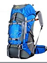 Ryggsäckar Ryggsäck 60 L - Multifunktionell Vattentät Regnsäker Utomhus Camping Jakt Klättring oxford Grön Blå Mörkgrön