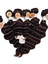 Brasilianskt hår Stora vågor 8A Human Hår vävar Hårförlängning av äkta hår Människohår förlängningar