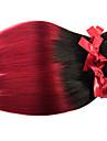 Peruanskt hår Rak 8A Nyans Hårförlängning av äkta hår Människohår förlängningar