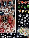 pvc 3D Nagelstickers Till finger Vackert nagel konst manikyr Pedikyr