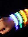 Säkerhet / Hög synlighet Reflexband / LED-armband för jogging Nylon för Camping / Vandring / Grottkrypning / Cykling / Löpning - Röd / Blå / Gul