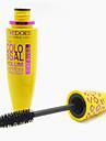 Mascara Sminkredskap Kaki Smink 1 pcs Plast Öga / Ögonfrans Dagligen Vardagsmakeup Vattentät Förlängda Lyfta ögonfransar Kosmetisk Skötselprodukter / Lockigt / Tjock