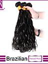 Naturligt vågigt Brasilianskt hår Hårförlängning av äkta hår Hårförlängningar 0.3 Naturligt vågigt